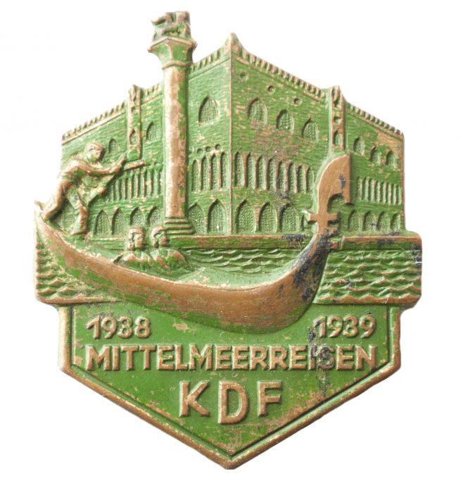 KDF (Kraft durch Freude) Mittelmeerreisen 1938-1939
