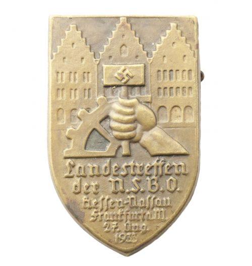 Landestreffen der NSBO Hessen Nassau Frankfurt a. M. 27. Aug. 1933