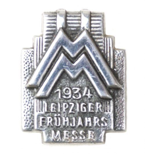 Leipziger Frühjahrsmesse 1934 abzeichen