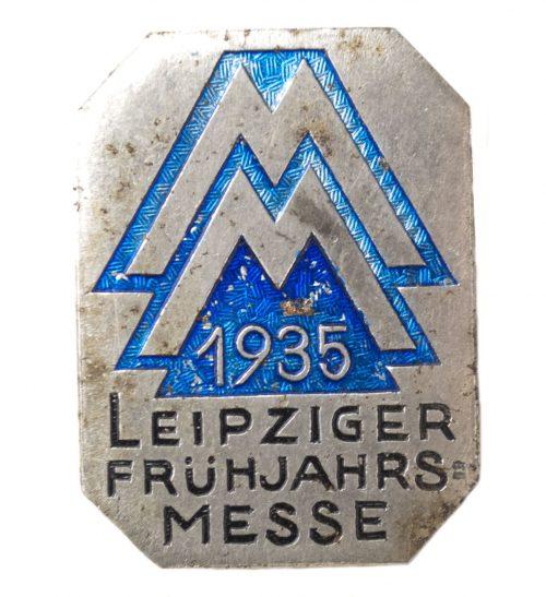 Leipziger Frühjahrsmesse 1935 abzeichen