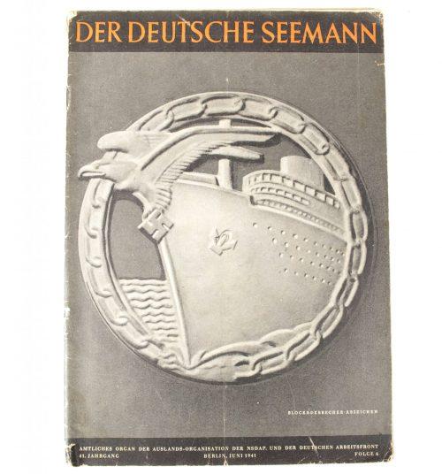 Magazine: Der Deutsche Seemann (Large Blockadebrecher image)