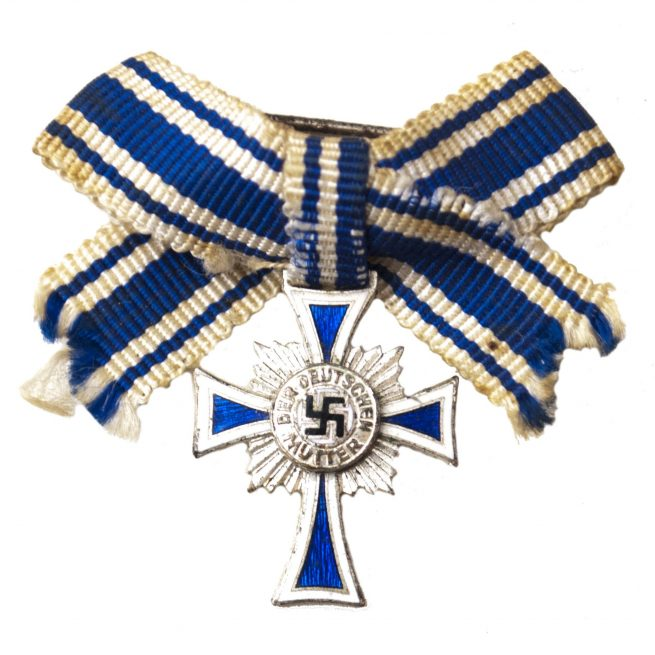 Miniature Mutterkreuz zilver