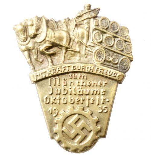 Mit Kraft durch Freude (KDF) zum Münchener Jubiläums Oktoberfest 1935