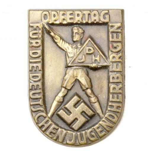 Opfertag-für-die-Deutsche-Jugendherbergen-with-paper-maker-sticker-by-Wittmann-München
