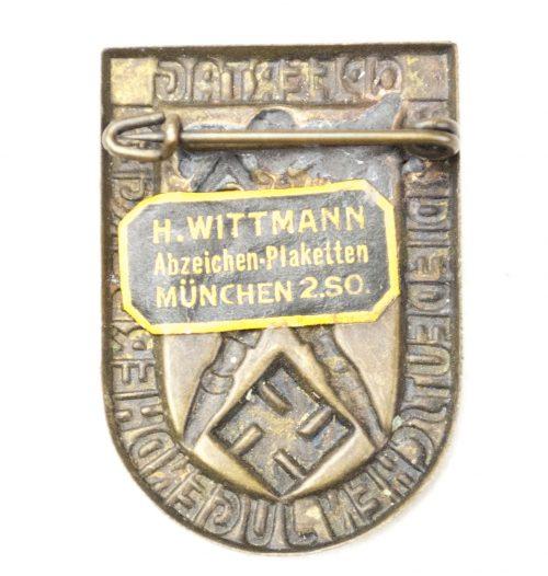 Opfertag für die Deutsche Jugendherbergen (with paper maker sticker by Wittmann München)