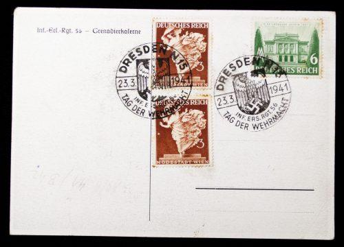 Postcard Tag der Wehrmacht 1941 -