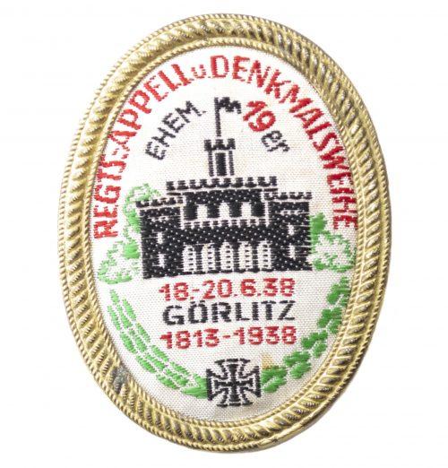 Regts.Appell.u.Denkmalsweihe 18.-20.6.38 Görlitz 1813-1938