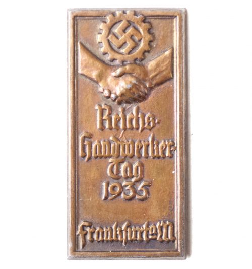 Reichshandwerkertag 1936 Frankfurt Am Main abzeichen