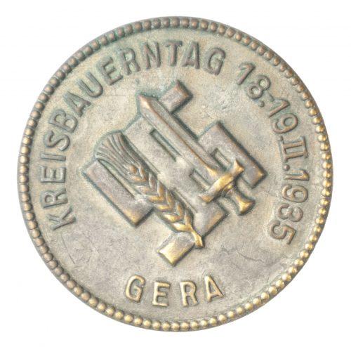 Reichsnährstand Kreisbauerntag 18.-19.II.1935 badge