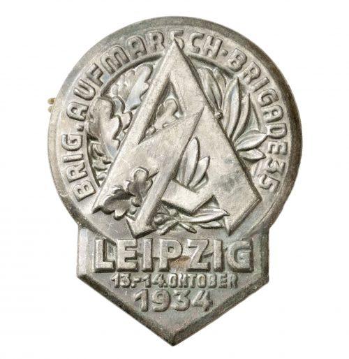 SA Brigade Aufmarsch Brigade 35 Leipzig 13. 14. Oktober 1934