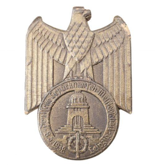 SA Deutsche Gepäckmarsch Meisterschaft 8.5.1938 Leipzig