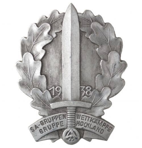 SA-Gruppen Wettkämpfe Gruppe Hochland 1938