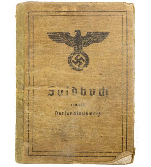 Soldbuch Kanonier Kfz. Batterie Art. Ers u. Ausb. Abt. 109