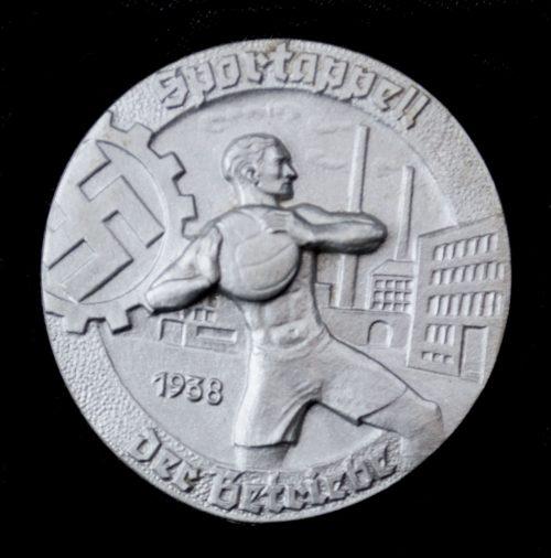 Sportappell der Betriebe 1938 abzeichen
