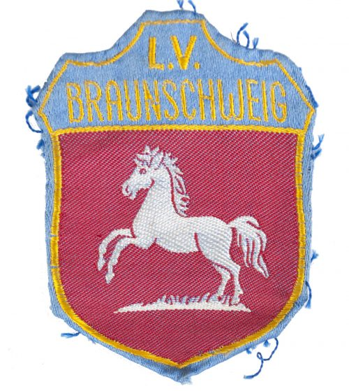 Stahlhelmbund ärmelschild L.V. Braunschweig
