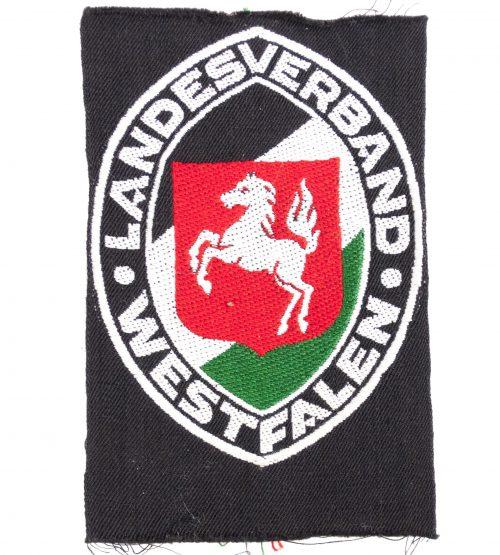 Stahlhelmbund ärmelschild Landesverband Westfalen