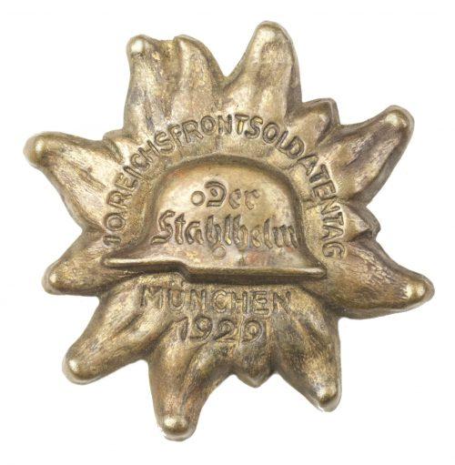 Stahlhelmbund 10. R.F.S.B. (Reichsfrontsoldatenbund) abzeichen München 1929