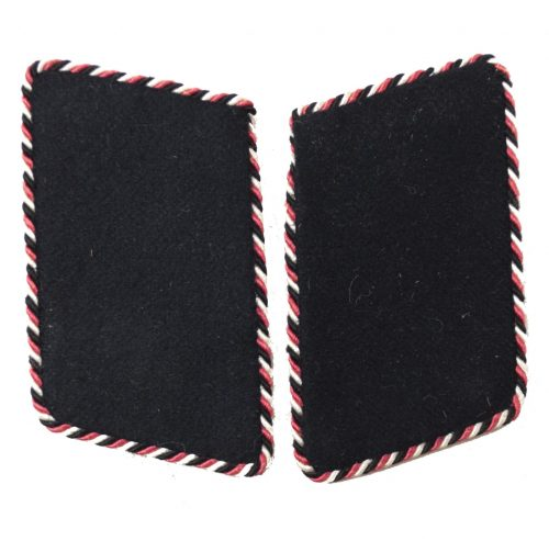 Stahlhelmbund set of collartabs with black-white-red piping for specialists in charge of press, culture and social welfare (Presse, Kultur und Sozialreferat)