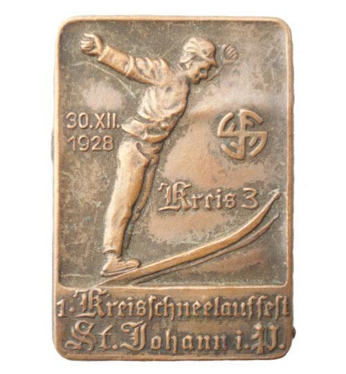 Turnerbund 1. Kreisschneelauffest 1928 (rare)