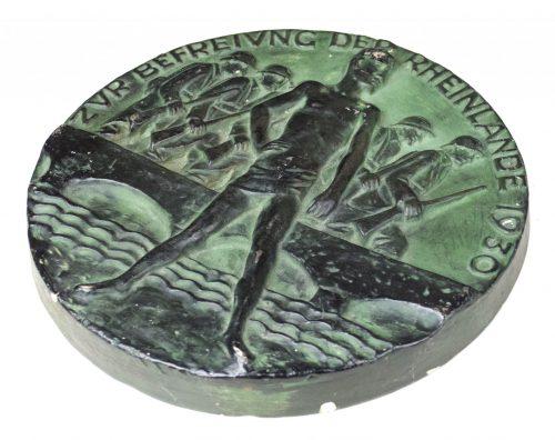 Zur Befreiung der Rheinlande 1930 (large 24 cm stone plaque)