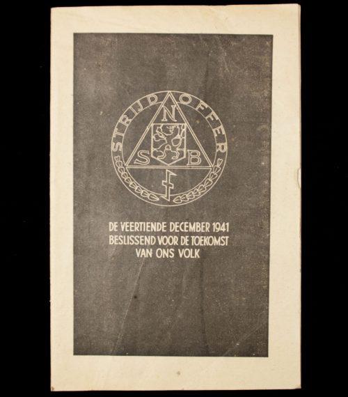 Brochure (NSB) De veertiendedecember 1941, beslissend voor de toekomst van ons volk