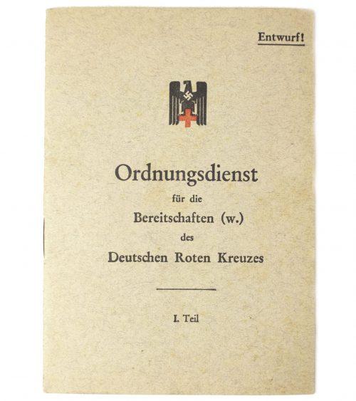 DeutschenRoten Kreuzes (DRK) Ordnungsdienst für die Bereitschaften (w.) des Deutschen Roten Kreuzes