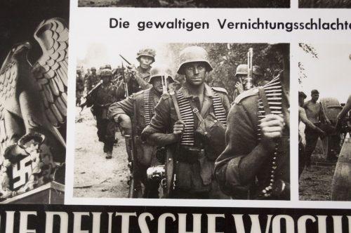 Die Deutsche Wochenschau very large pressphoto (30x24 cm)