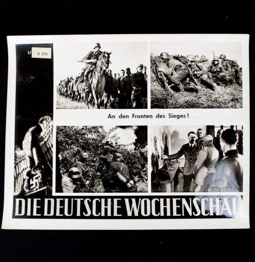 Die Deutsche Wochenschau very large pressphoto (30x24 cm) #U570