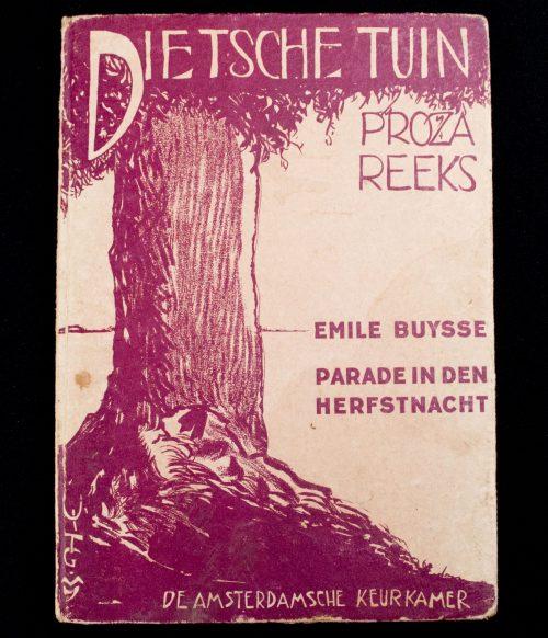 Dietsche Tuin Proza Reeks - Emile Buyse: Parade in den herfstnacht (Amsterdamsche Keurkamer)