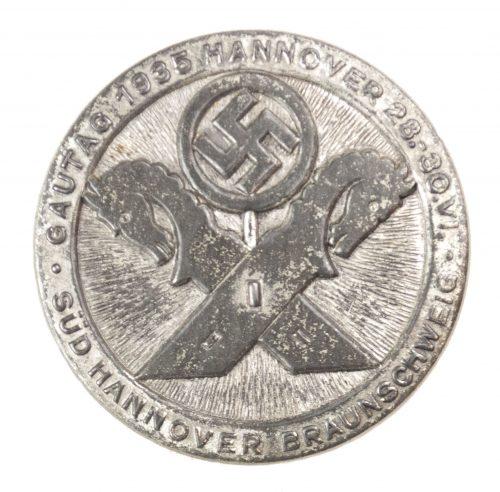 Gautag 1935 Hannover Braunschweig badge