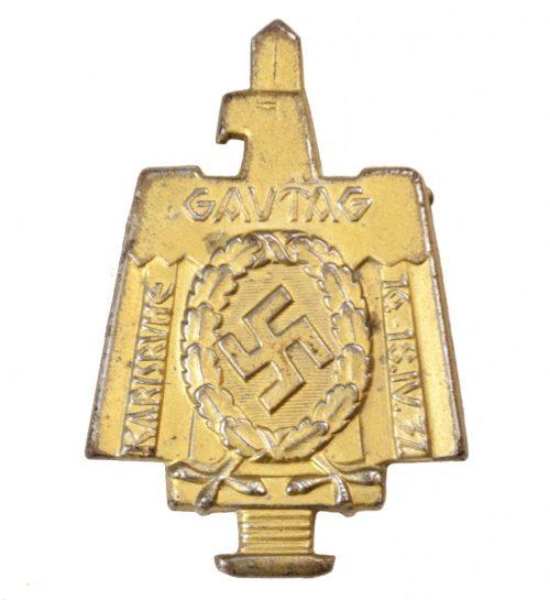Gautag Karlsuhe 16.-18.IV.37