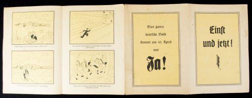 German President Elections 1932: Einst und Jetzt - Das ganze Deutsche Volk Stimmt am 10. April mit JA!