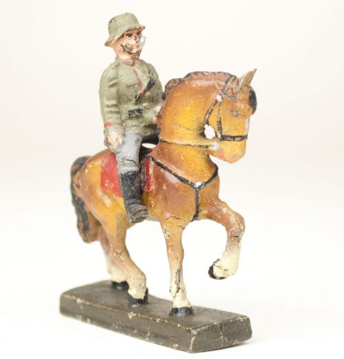 "German Soldier toyfigure ""horserider"" (Reiter)"