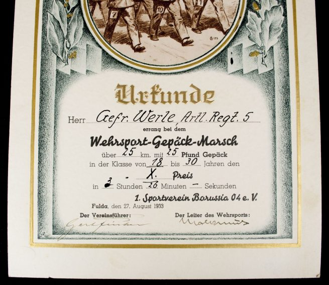 Herbert-Werle-group-with-two-tunics-2-photoalbums-and-many-citations