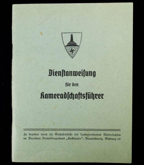 Kyffhauserbund Dienstanweisung für den Kameradschaftsführer