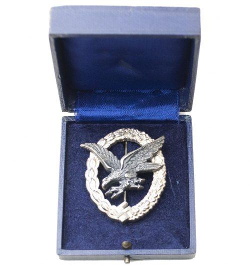 Luftwaffen Fliegerschützen abzeichen Luftwaffe Airgunner badge (maker B&NL)