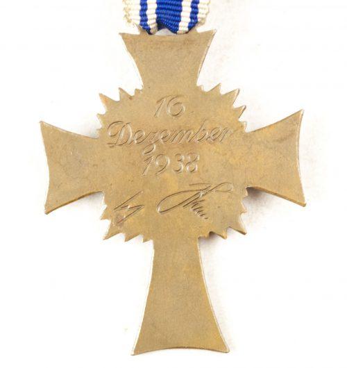 Mutterkreuz / Motherscross in bronze
