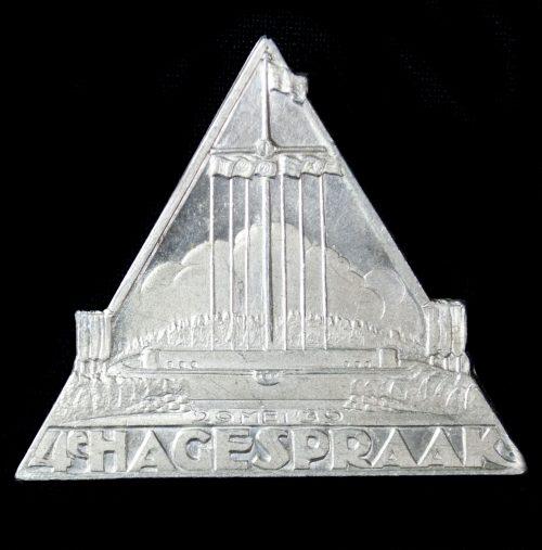 NSB 4e Hagespraak 29 mei 1939 badge