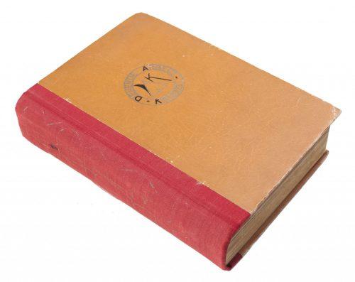 NSB - De Amsterdamsche Keurkamer - Keurjaarboek1932 – 1942 : met een keur van werkstukken van vele acteurs in ons fonds