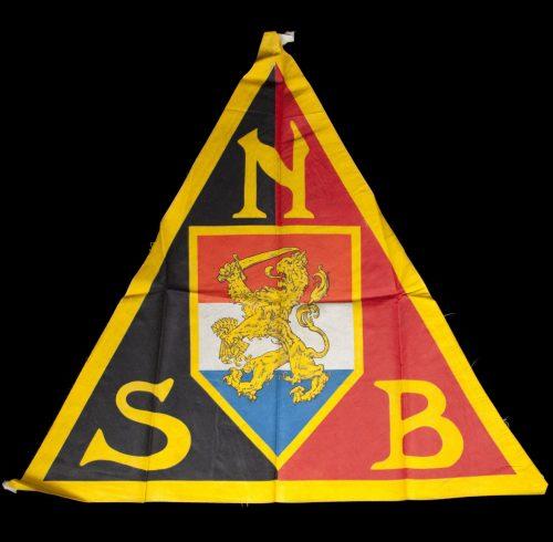 NSB Flag centrepiece 66 x 66 cm (Very large!)