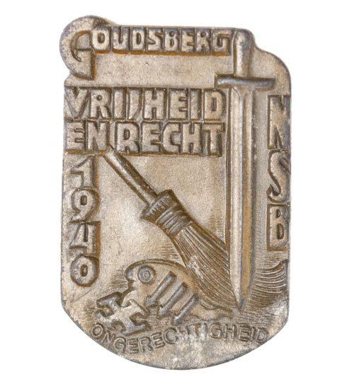 NSB Hagespraak 1940 badge