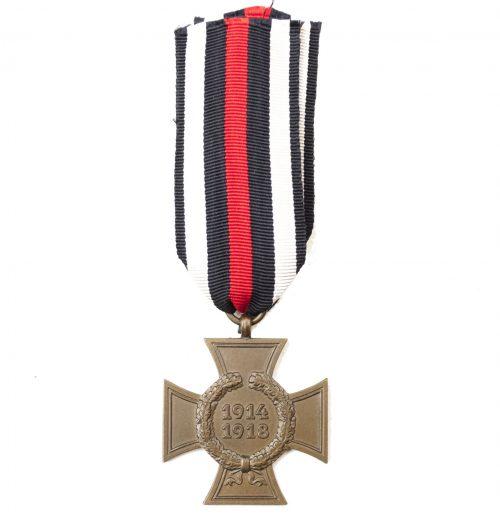 Nichtkämpfer Ehrenkreuz without swords (Hindenburgkreuz)