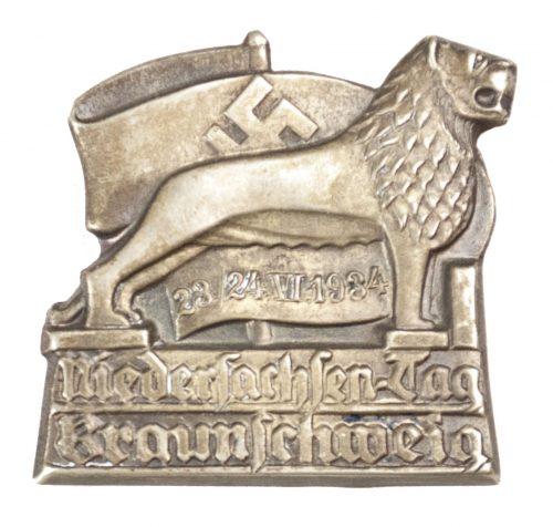 Niedersachsentag Braunschweig 1934 badge