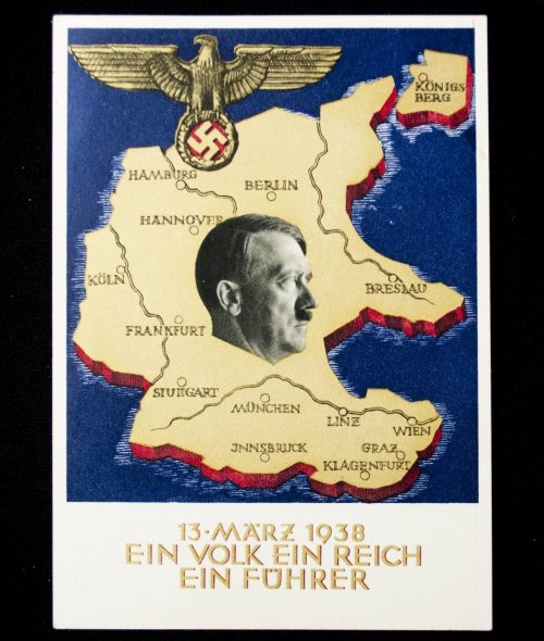 Postcard: Austria Annexaton on 13 March 1938