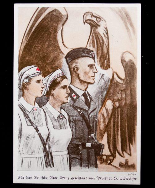 Postcard: (DRK) Das Deutsche Rote Kreuz (1939)