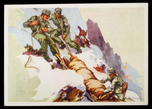 Postcard (DRK) Das wirken des Deutschen Roten Kreuzes
