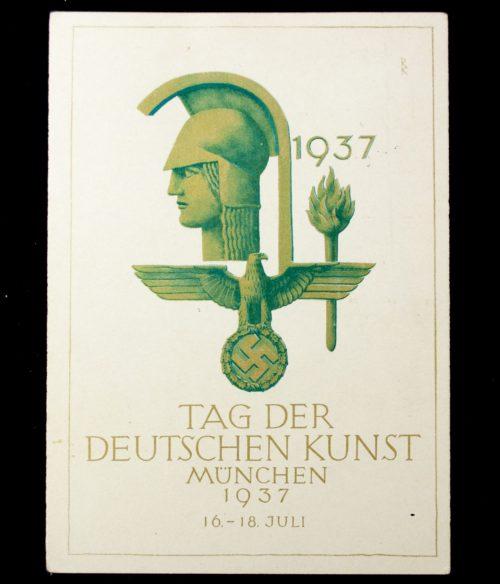 Postcard: Tag der Deutschen Kunst München 1937