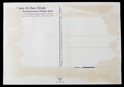 Postcard: W. Willrich - Günther Prien
