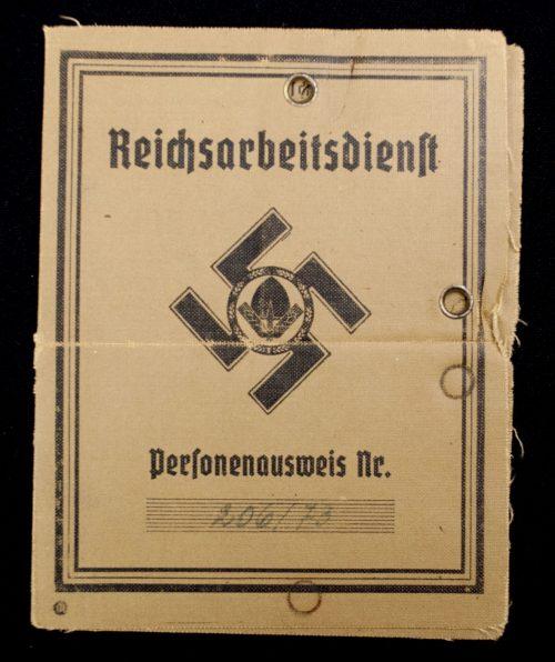 Reichsarbeitsdienst (RAD) Dienstausweis + Personenausweis