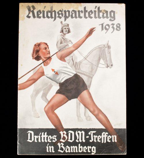 Reichsparteitag 1938 - Drittes BDM Treffen in Bamberg (Bund Deutscher Mädel)